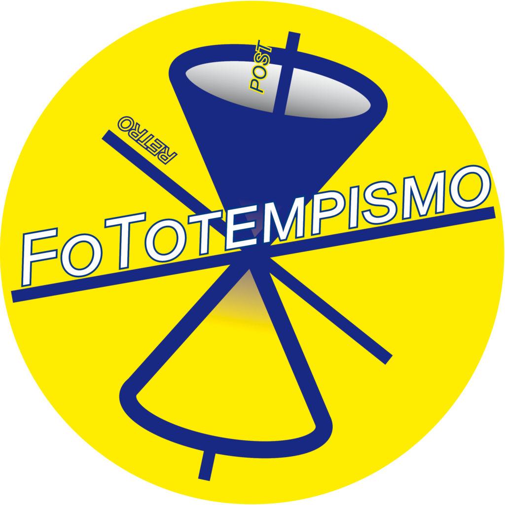 Enzo Trifolelli Logo fototempismo GialloBlu cerchio scritte